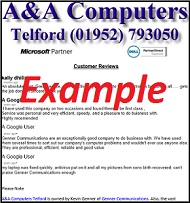 Telford Computer Repair Reviews
