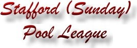 Stafford Pool League