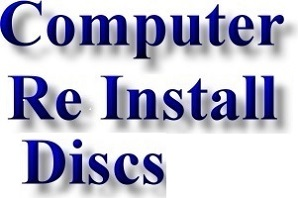 Laptop and PC Reinstall, Reboot and Computer Repair CDs