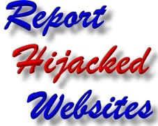 Report Telford Website Hacking - Website Hijacking