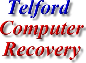 Telford Data Recovery and  Computer Recovery contact details