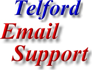 Find Telford Email Support and Email Repair services