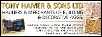 Tony Hamer & Sons Decorative Stones Haulage in Telford