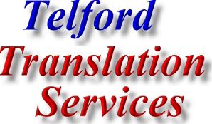 Find Telford English Translation services contact details